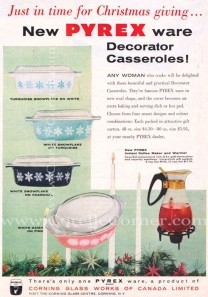 Decorator Casseroles 1956 Corellecorner.com
