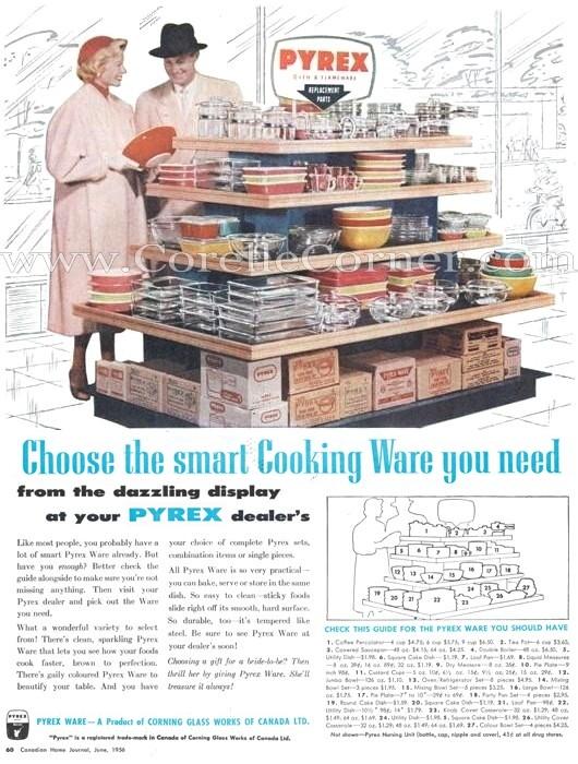 1956 Canada Ad corellecorner.com