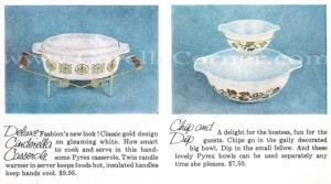 1960 Pyrex Gift Sets corellecorner.com